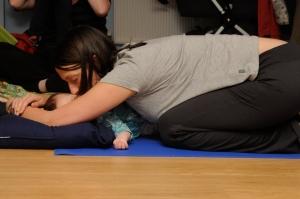 1: Mummy and Child's pose